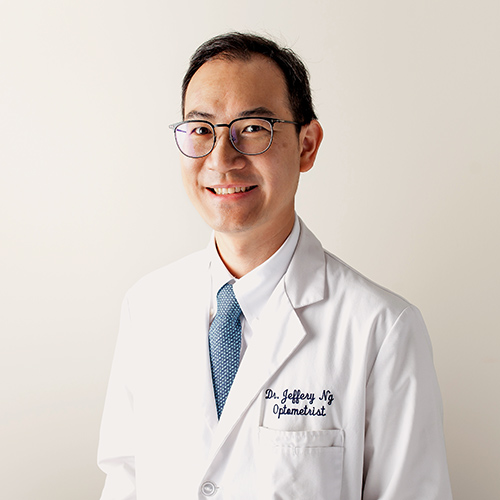 Optometrist DR. JEFFERY NG